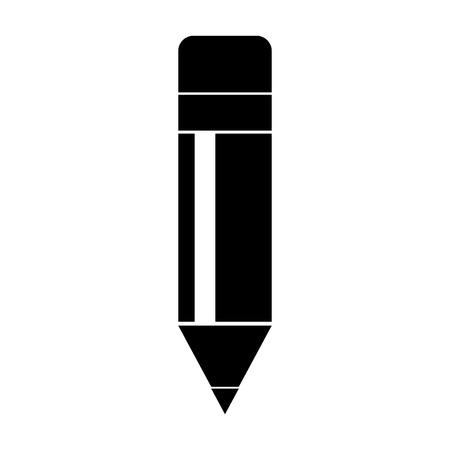鉛筆学校分離アイコン ベクトル イラスト デザイン  イラスト・ベクター素材