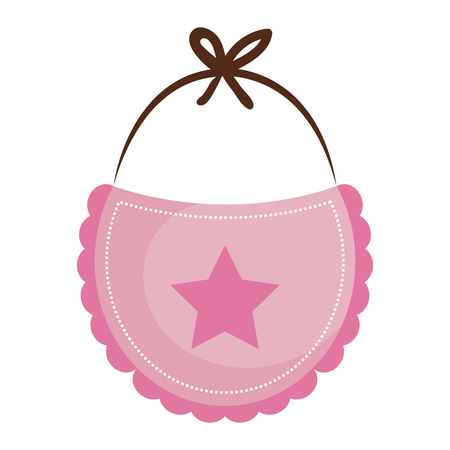 beautiful accessories baby icon vector illustration design graphic