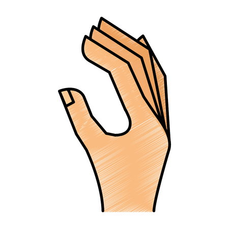 hand human language icon vector illustration design