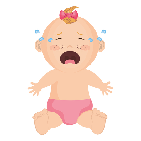 Baby clothes crying icon vector illustration design graphic