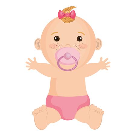 Baby clothes happy icon vector illustration design graphic Illustration