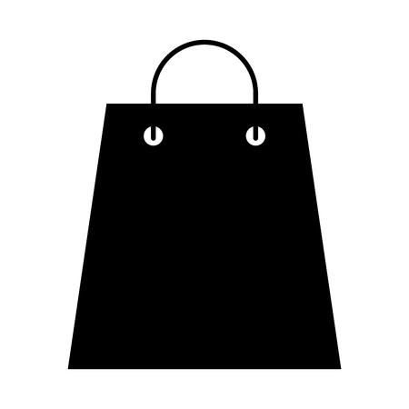 shopping bag isometric icon vector illustration design