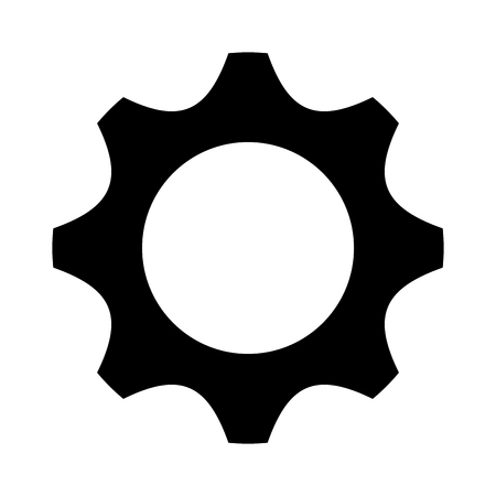 gear machine isolated icon vector illustration design Illustration