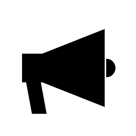 loud speaker: megaphone sound isolated icon vector illustration design