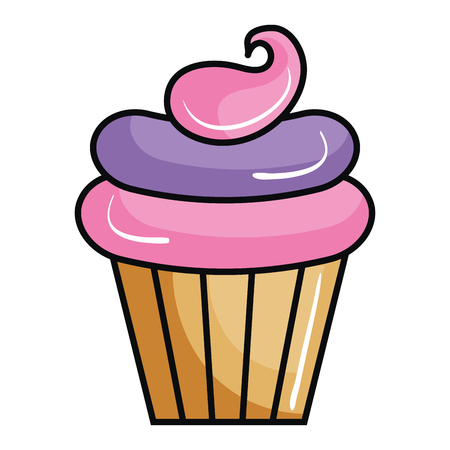 Sweet cream children icon vector illustration design graphic Ilustrace