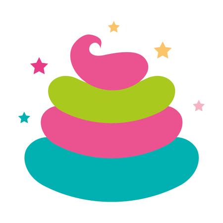 Dulce nata niños iconos ilustración vectorial diseño gráfico Foto de archivo - 81009418