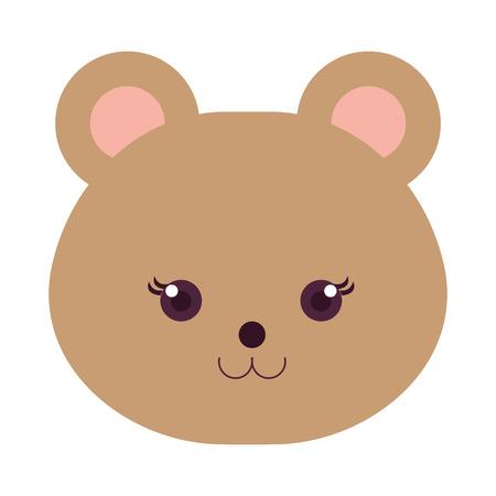 animal bear icon vector illsutration design graphic Ilustração