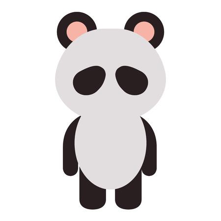 animal panda icon vector illustration design graphic Stock fotó - 81009508