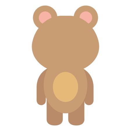 animal bear icon vector illsutration design graphic Illusztráció