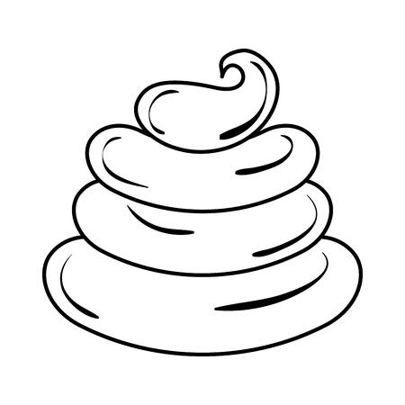 Süße Sahne Kinder Symbol Vektor-Illustration Design zeichnen Standard-Bild - 81009935