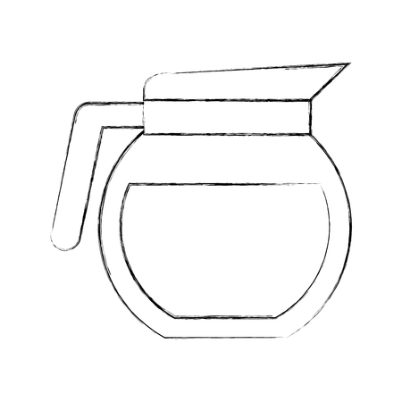 coffee teapot isolated icon vector illustration design Stock fotó - 81010265