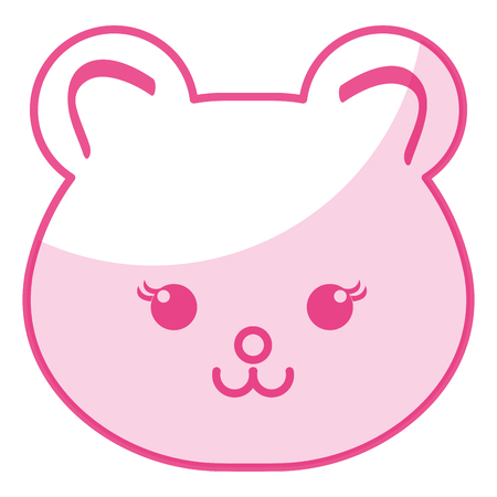 animal bear icon vector illsutration design shadow