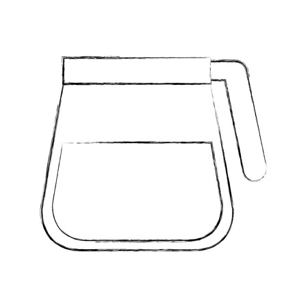 Coffee teapot isolated icon vector illustration design Ilustração