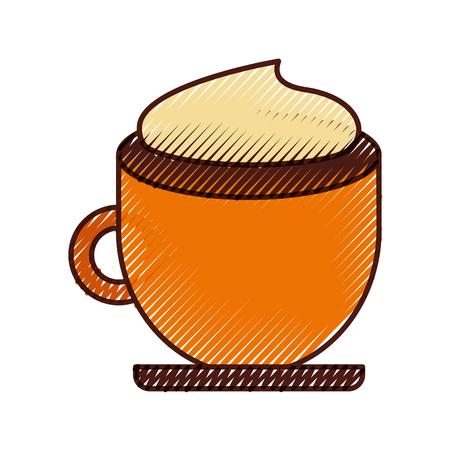 coffee cup isolated icon vector illustration design Ilustração