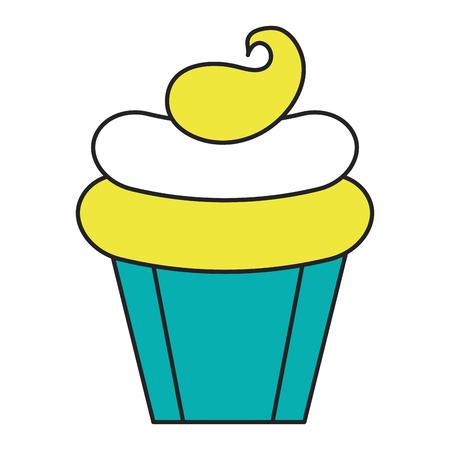 Süße Creme Kinder Symbol Vektor-Illustration Design Grafik Standard-Bild - 81010439