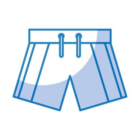 Diseño aislado traje de baño masculino del ejemplo del vector del icono Foto de archivo - 81010672