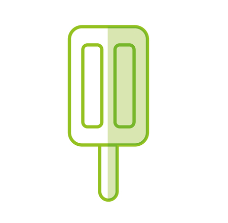 ice pop isolated icon vector illustration design