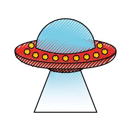 unidentified flying object icon vector illustration design 版權商用圖片 - 81010611