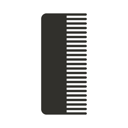 barbershop comb isolated icon vector illustration design