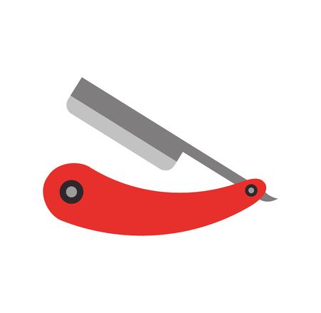 rasoir rasoir isolé icône illustration vectorielle conception