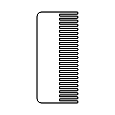 barbershop comb isolated icon vector illustration design Stock fotó - 81012266