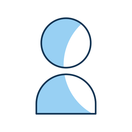 user contact isolated icon vector illustration design