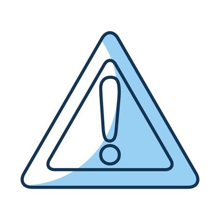 alert signal isolated icon vector illustration design Illustration