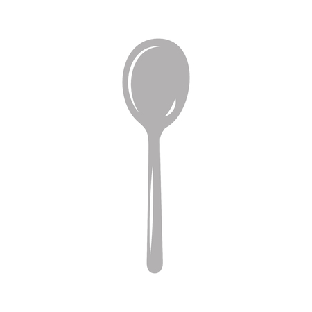 spoon cutlery isolated icon vector illustration design Ilustrace
