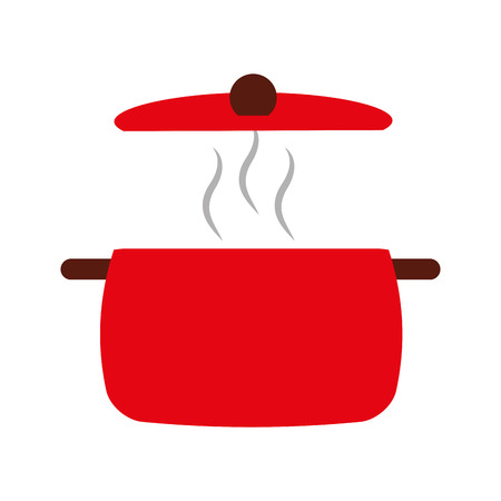 kitchen pot isolated icon vector illustration design Stock Vector - 81077786