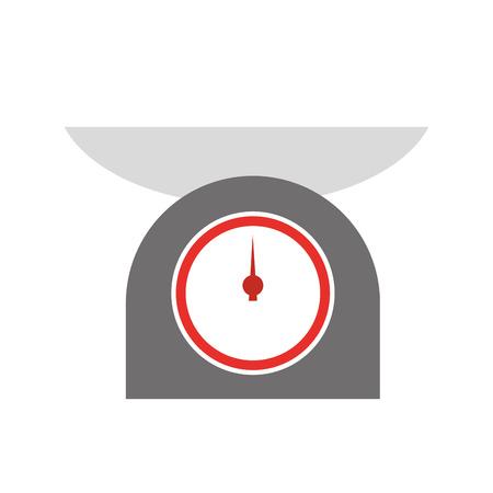 キッチン バランス分離アイコン ベクトル イラスト デザイン