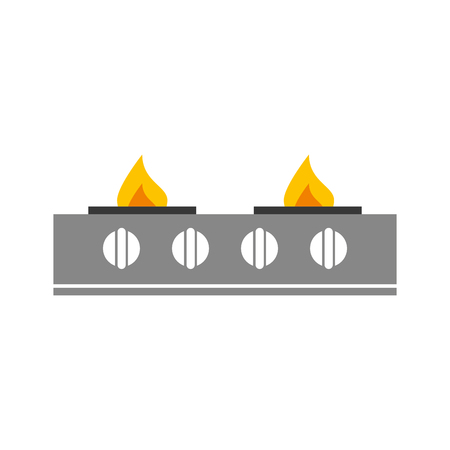 stove gas kitchen icon vector illustration design Stock Vector - 81084924