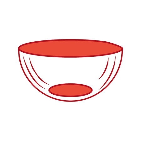 kitchen bowl isolated icon vector illustration design Illustration
