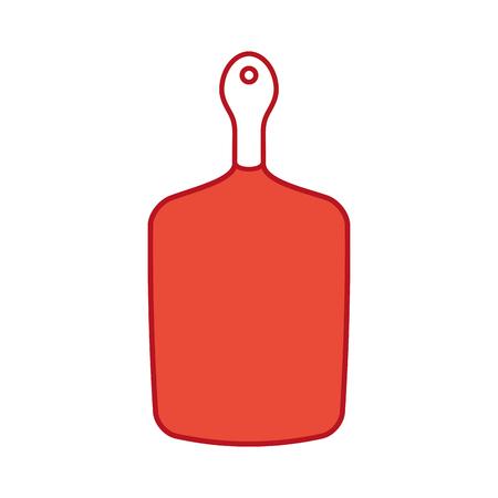 kitchen board isolated icon vector illustration design Illustration
