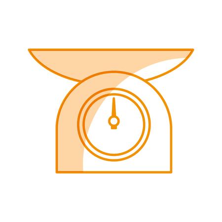 kitchen balance isolated icon vector illustration design Ilustração