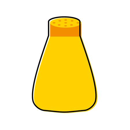 salt shaker isolated icon vector illustration design