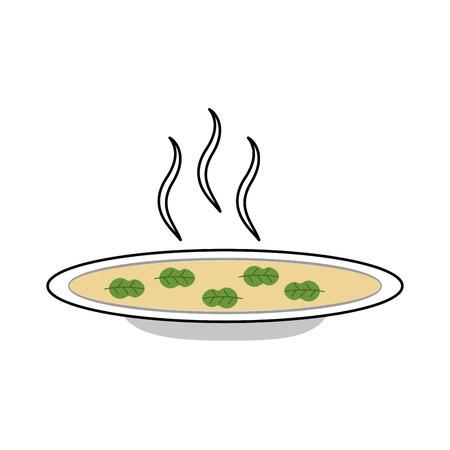 수프 아이콘 벡터 일러스트 디자인 요리 스톡 콘텐츠 - 81104577