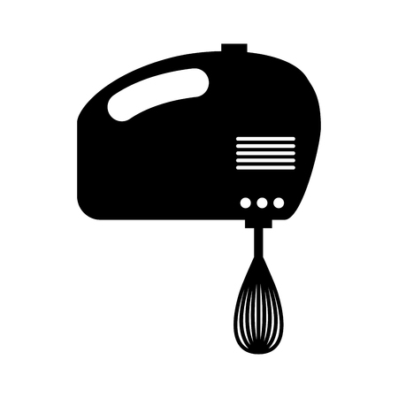 mixer electric isolated icon vector illustration design