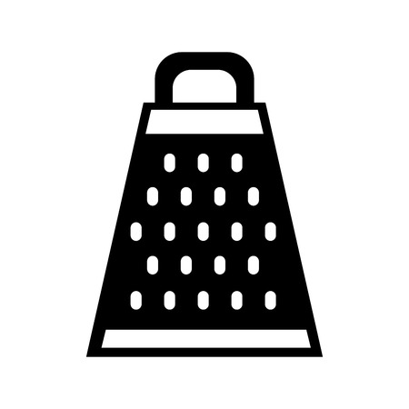 Kitchen grater isolated icon vector illustration design