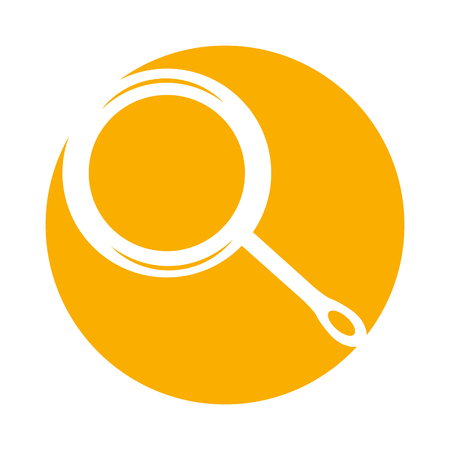 キッチン フライパン分離アイコン ベクトル イラスト デザイン