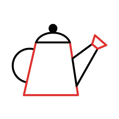 Landbouw sprinkler geïsoleerd pictogram vector illustratie ontwerp