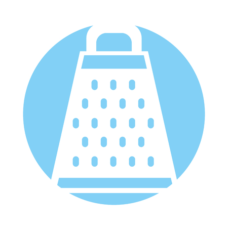 Kitchen grater isolated icon vector illustration design Stock Vector - 81083459