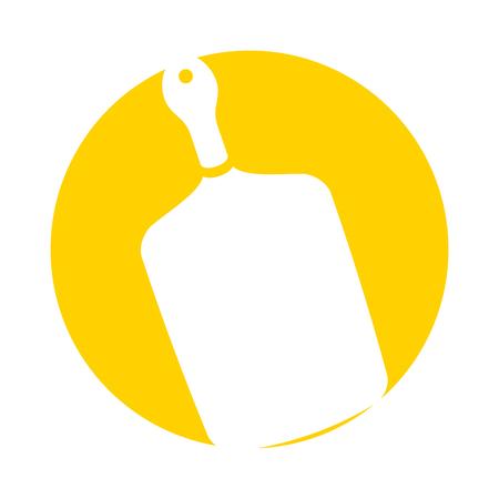 keuken bord geïsoleerd pictogram vector illustratie ontwerp