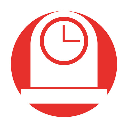 kitchen balance isolated icon vector illustration design Illustration