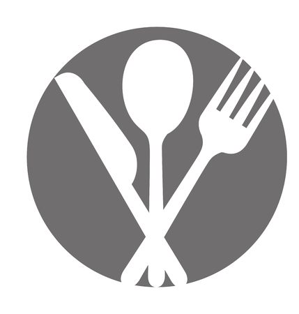 キッチン カトラリー アイコン ベクトル イラスト デザインを設定します。  イラスト・ベクター素材