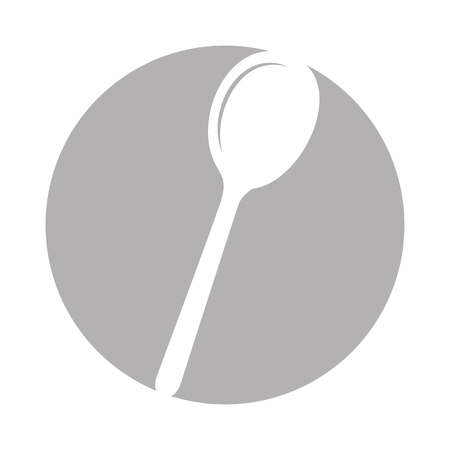 spoon cutlery isolated icon vector illustration design Reklamní fotografie - 81083512