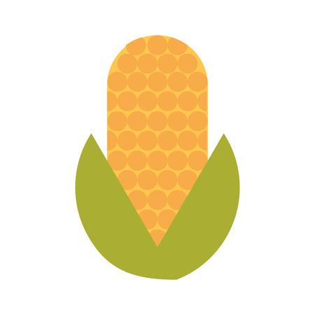 El vehículo del maíz aislado icono de ilustración vectorial de diseño Foto de archivo - 81085540