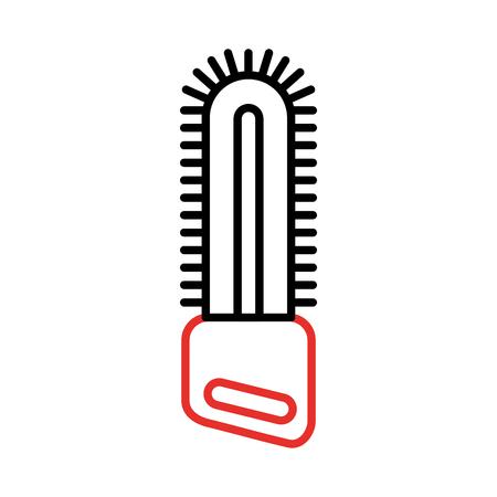 chainsaw farm isolated icon vector illustration design Ilustração