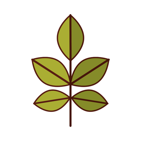 耕された植物のアイコン ベクトル イラスト デザインを分離しました。