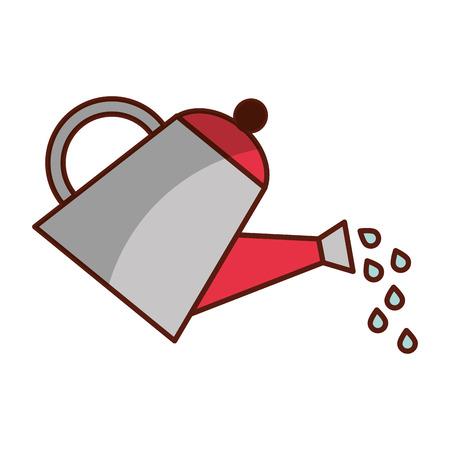 farming sprinkler isolated icon vector illustration design Stock Photo