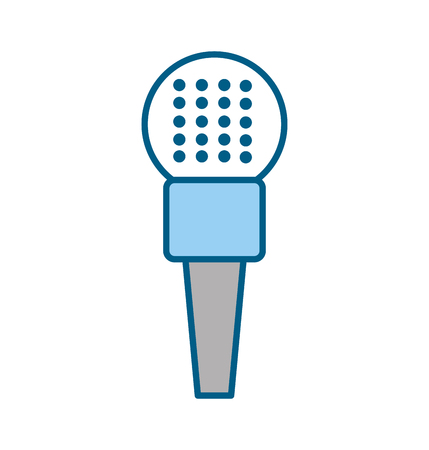 Professional microphone transmit icon vector illustration design graphic Ilustração